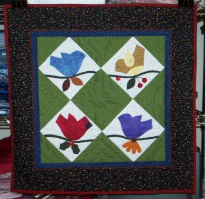 Rebirth - Birds of a Feather...Quilted & Bound