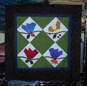 the top with all borders applied