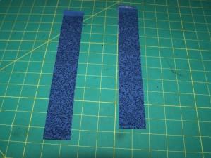 Strips for the inner border