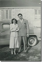 Oakley Hicks and Juanita McGee Early 1950's