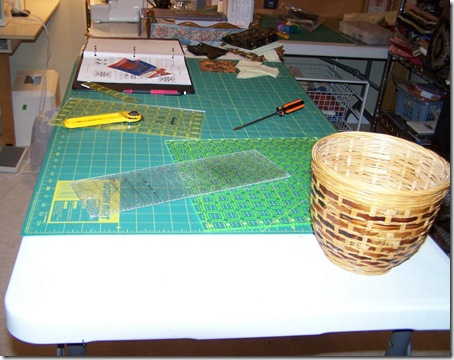 The work surface