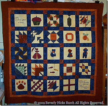 Quilted Memories of Daddy's Life - 2