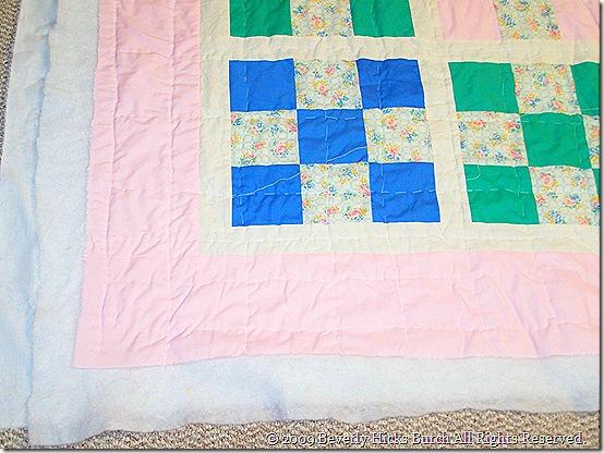 Pastel Nine Patch - Border Detail