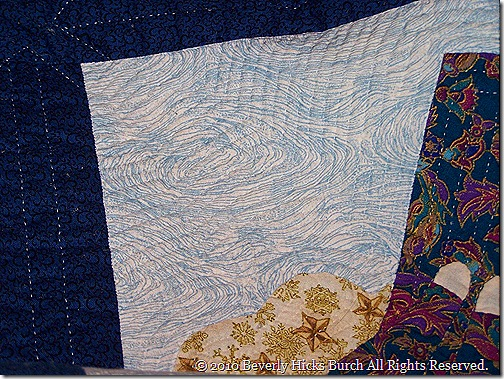 AWOM - quilting detail front