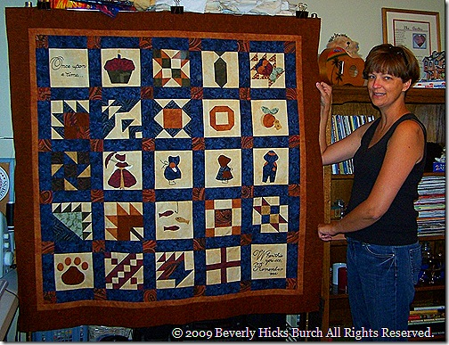 Quilted Memories of Daddy's Life - 3