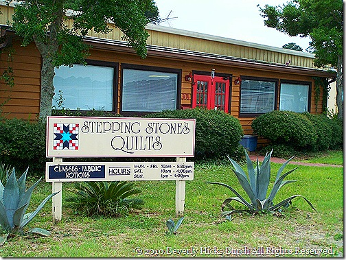 Stepping Stones Quilts on St. Simons Island