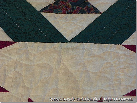Maverick I - To New Mexico Quilting Detail