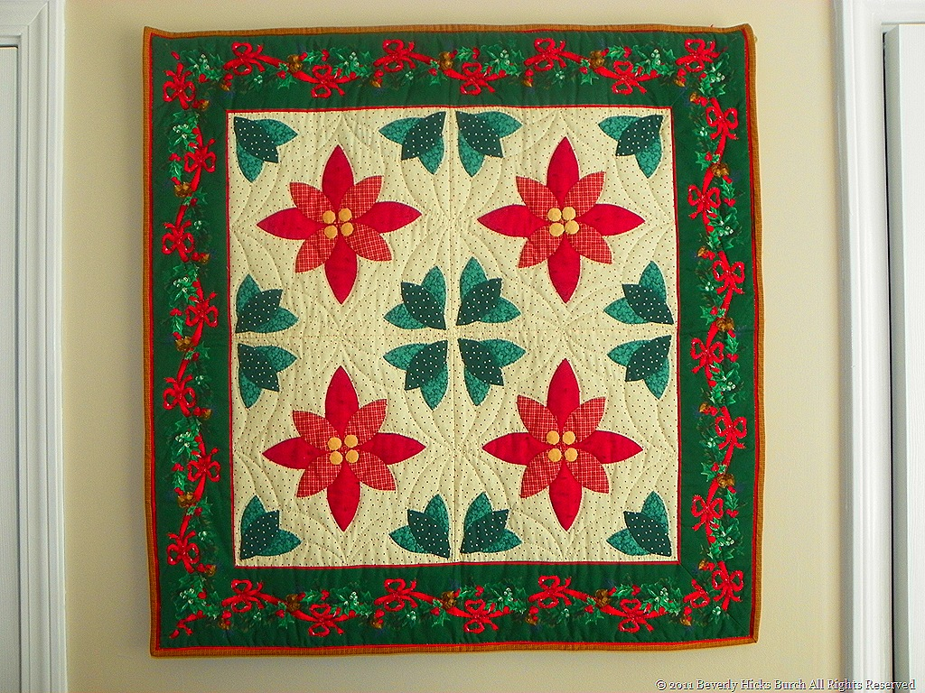 Home For the Holidays–Quilts at Christmas, by Beverly Hicks Burch ...