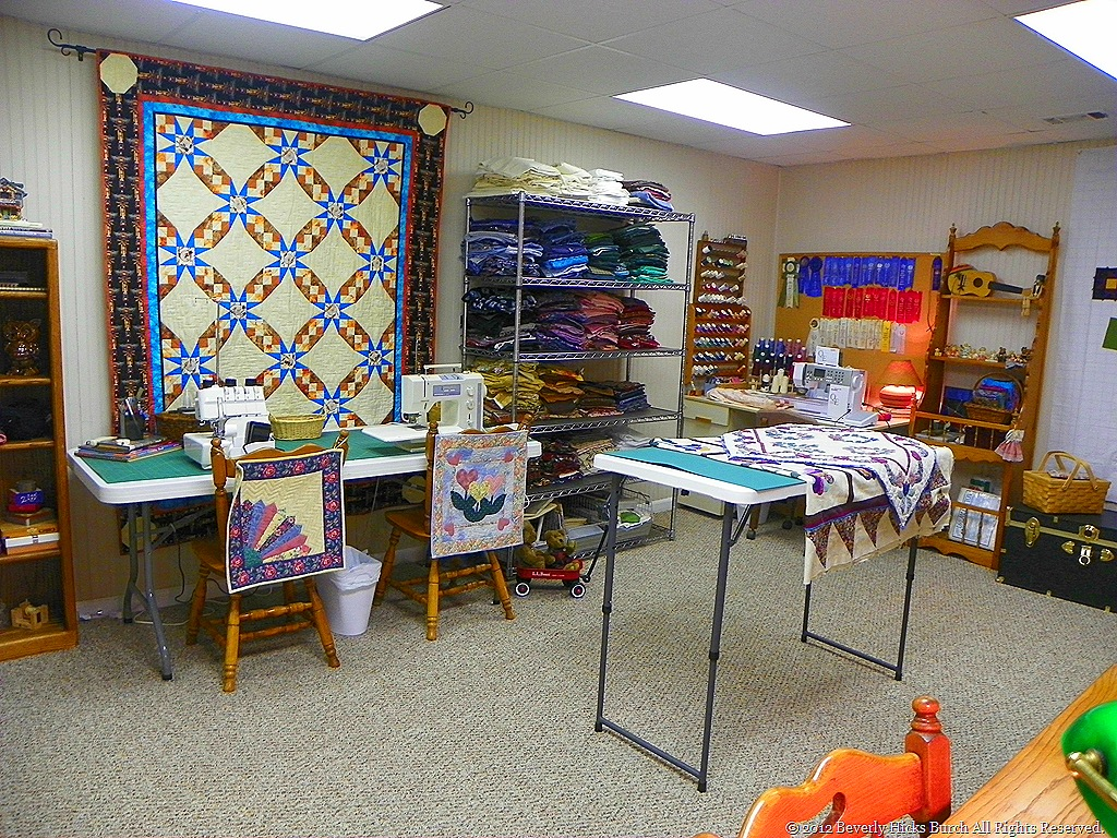 Tour The Completed Quilt Room Finally By Beverly Hicks