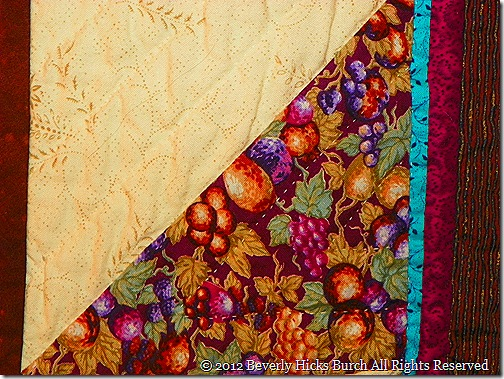 looking thru grandmother's - quilting detail